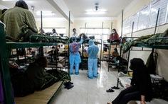 1.800 người cách ly tập trung ở Hà Nội được về với gia đình