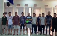 Phá sòng bạc có súng tại quận Bình Thạnh, tạm giữ 44 người