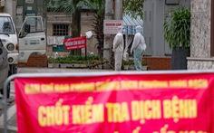 Dỡ bỏ phong tỏa phố Trúc Bạch ở Hà Nội