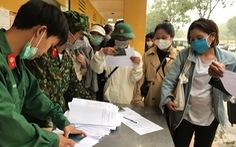 166 người dân hoàn thành cách ly tập trung ở Thanh Hóa