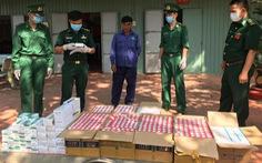 Liên tục bắt tân dược, thuốc lá lậu tại biên giới Tây Ninh và Long An