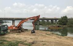 Đà Nẵng xây đập tạm thứ 2 trên sông Cẩm Lệ để ngăn mặn