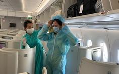 Những 'chiến binh' hàng không trong những chuyến bay về từ 'tâm dịch' châu Âu