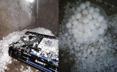 Mưa đá to bằng quả trứng trút xuống Lào Cai, Lai Châu