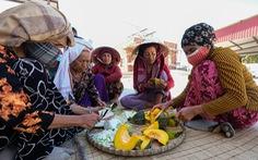'Hạn virus' tới làng Chăm