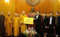 Giáo hội Phật giáo Việt Nam tặng 5 phòng áp lực âm, sẵn sàng hỗ trợ nơi cách ly