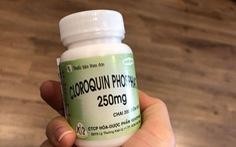 Nghiêm cấm bán thuốc sốt rét không toa để điều trị, dự phòng COVID-19