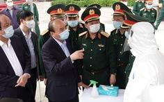 Thủ tướng nhắc quân đội 'tự bảo vệ', không để dịch COVID-19 lây vào lực lượng