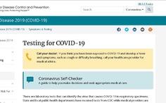 CDC Mỹ dùng chatbot giúp dân tự chẩn đoán COVID-19