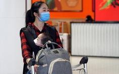 Chỉ còn 233 người Việt về sân bay Nội Bài trong ngày 23-3