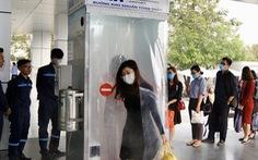 Nhóm kỹ sư trẻ sân bay Nội Bài làm buồng khử khuẩn toàn thân