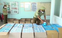 Sẽ phân loại hơn 230.000 khẩu trang bắt được cấp cho lực lượng chống dịch