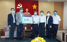 P&G Việt Nam tặng xà phòng cho công nhân phòng chống dịch COVID-19