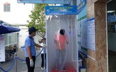 Bệnh viện đầu tiên ở Cần Thơ thử nghiệm buồng khử khuẩn tự động