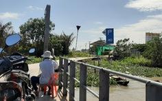Bến phà ngang sông Hậu ngang nhiên hoạt động không phép