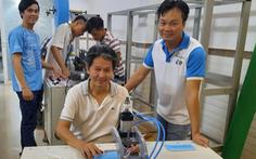 Giảng viên ĐH Bách khoa TP.HCM chế tạo máy sản xuất khẩu trang y tế