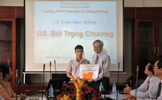 Giáo sư Lương Văn Hy được bầu làm phó chủ tịch AAS