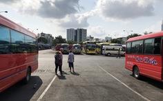 Các bến xe tại TP.HCM kiểm soát chặt khách đi lại