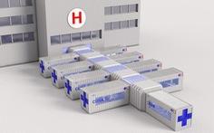 Thiết kế biến container thành bệnh viện điều trị COVID-19