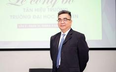 PGS.TS Nguyễn Ngọc Điện làm hiệu trưởng Đại học Hoa Sen