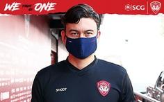 Muangthong United dùng Văn Lâm làm 'biểu tượng' kêu gọi chống COVID-19