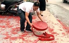 Vụ đốt pháo đám cưới ở Hà Nội: Truy cứu trách nhiệm hình sự được không?