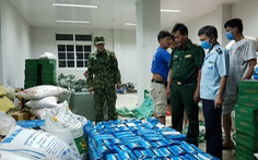 Chặn đứng hàng chục ngàn khẩu trang y tế 'chảy máu' sang Campuchia