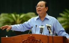 Cách chức nguyên bí thư Thành ủy TP.HCM nhiệm kỳ 2010-2015 với ông Lê Thanh Hải