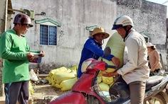 Cà Mau: kênh rạch khô cạn, dân khó bán được lúa