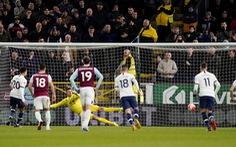 Hòa may mắn trước Burnley, đoàn quân của HLV Mourinho xếp thứ 8