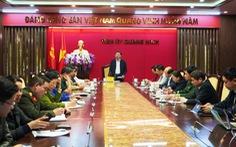 Quảng Ninh họp khẩn từ mờ sáng liên quan những người cùng bay với 'số 17'