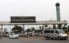 Không thể hoàn thành hệ thống đếm giờ, thu phí xe vào sân bay trước 31-3