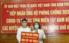 Hai học sinh đập heo đất ủng hộ 200 triệu phòng chống COVID-19