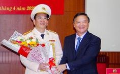 Công bố trực tuyến giám đốc mới Công an Khánh Hòa