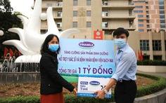 Vinamilk hỗ trợ y bác sĩ và bệnh nhân bệnh viện Bạch Mai