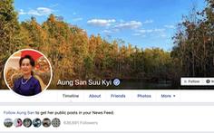 Bà San Suu Kyi lần đầu đăng Facebook 'giúp nước' chống COVID-19
