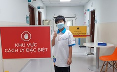 Bé trai 10 tuổi ở TP.HCM và 2 người khác khỏi COVID-19 xuất viện