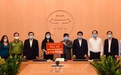Ủng hộ một ngày lương, Hà Nội góp 56 tỉ vào quỹ phòng chống COVID-19