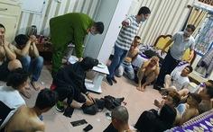 Tụ tập chơi ma túy trong khách sạn giữa dịch COVID-19, 23 thanh niên bị bắt