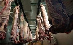 Nhập khẩu thịt bò của Trung Quốc giảm mạnh
