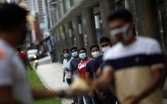 Ca nhiễm gần chạm mốc 4.000, Singapore tăng tốc bịt lỗ hổng ổ dịch nhập cư