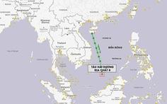 Hành động kép - Tàu Liêu Ninh và HD8 vào Biển Đông: Không chấp nhận chuyện đã rồi
