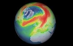Lỗ thủng tầng ozone Nam Cực dần lành, ở Bắc Cực lớn kỷ lục