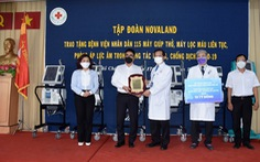 Novaland tặng trang thiết bị y tế đến Bệnh viện Nhân dân 115