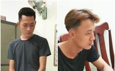 Khởi tố 2 thanh niên dùng dao, cướp ngân hàng Vietcombank