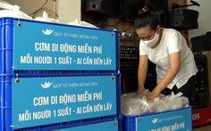 Suất cơm 0 đồng cho người nghèo ngày cách ly