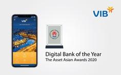 VIB lần thứ tư nhận giải thưởng về Ngân hàng số