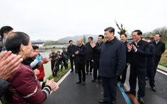 Ông Tập tháo khẩu trang đi gặp dân, Trung Quốc sắp hết dịch?