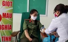 Công an Hà Nội bắt đầu hiến máu trong 10 ngày