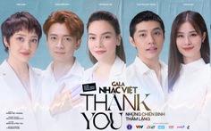 Bài hát 'Thank you' của Gala Nhạc Việt trở thành dự án cộng đồng được yêu thích trên NhacCuaTui